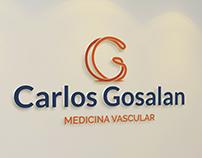 Carlos Gosalan Medicina Vascular | Identidade Visual