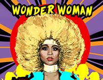 LION BABE // WONDER WOMAN COVER ART