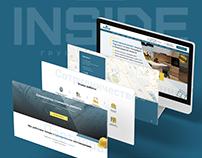 Сайт для компании по ремонту и строительным работам