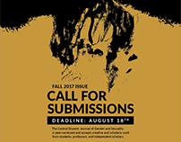 The Central Dissent 2017 Call for Submissions Posters