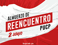 Afiche Almuerzo de Reencuentro PUCP
