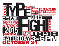 Type Fight Poster