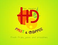 HD Coffee - Logo & Name card - 2015