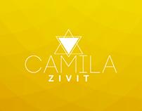 Camila Zivit - Identidade Visual