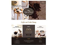 Website Design - CoCo Cafe