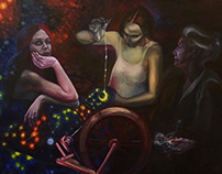 Goddess Oil Painting Series