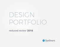Design Portfolio: year in a reduced review