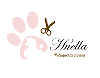 logo for canine hairdresser