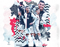 Cristiano Ronaldo - Juventus Match Day Poster