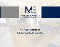 An Apartment in Adim Istanbul Complex