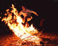 Slavic Village - combat training - nighttime fun