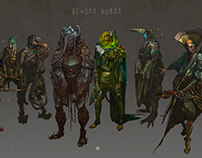 Character Design vol : 7 - Beyond human
