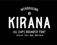 Kirana Typeface