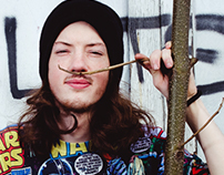 Portraits of DJ Shockslave