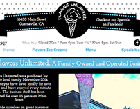 Flavors Unlimited Website Redesign