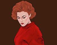 Audrey Horne - Twin peaks character design