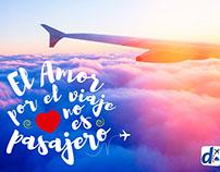 Viajar con mucho amor es posible