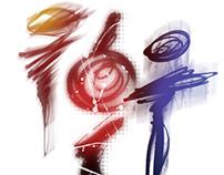 Cosmic calligraphy