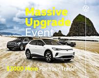 Volkswagen Sales Event Banner