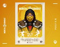 Scorpion   Mortal Kombat 11   Fan Art
