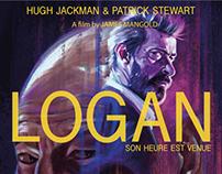 Logan x-men affiche de cinéma