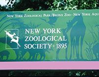 Bronx Zoo Signage
