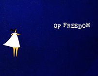 Freedom by Ted Hughes : A motion poem