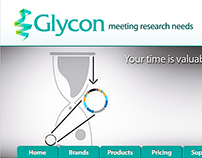 Glycon Website Design & eDM