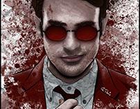 Marvel Daredevil fanart poster