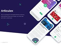 Articulex ios app design