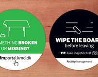 Facility Management Stickers