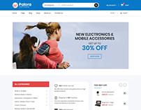 Palora – Electronics eCommerce Bootstrap4 Template