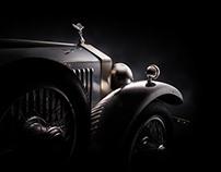 Rolls-Royce Phantom fine art shoot (Louwman Museum)
