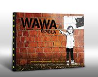 WAWA Bla Bla - album about Warsaw street art