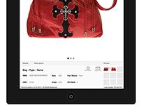 Chrome Hearts iPad App