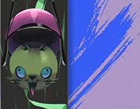 Wild Kitty Longboard