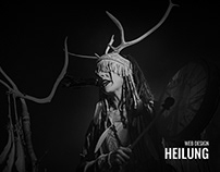 Heilung - Website Proposal
