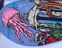 Beach stone painting