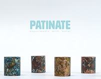 Patinate - Experiments with metal