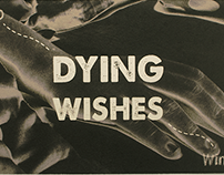 Dying Wishes - Experimental Typography Book