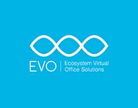 Evo logo design + stationary