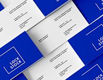 LOCKSTOCK / Logo & Identity