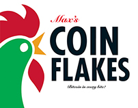 Coin Flakes! Bitcoin in every bite!