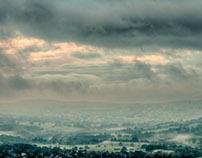 Misty morning in Ilkley