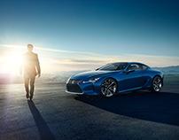 Lexus - LC 500h - Landing Page