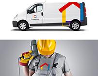 Логотип и фирменный стиль СтроимДом