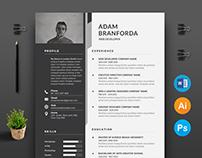Free CV / Resume