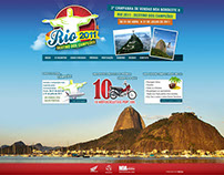 Rio 2011 - Destinos dos campeões