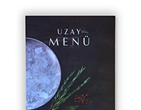 Uzay Menu Design