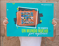 Poster- Movilidad Internacional Estudiantil